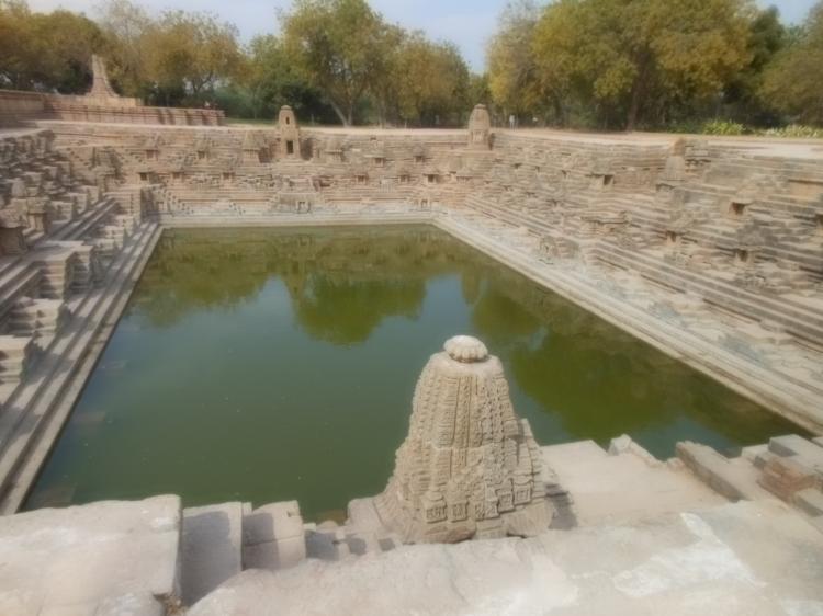 Stepped pond at Modhera