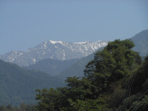 Mountain view from Dalhousie