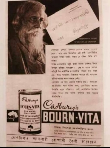 Bournvita with Tagore