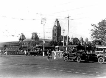 Madras Central Station 1925