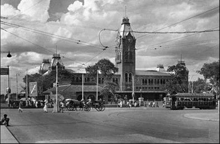 Madras Central Station 1943