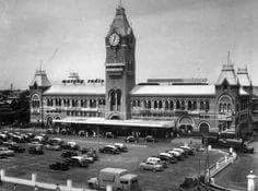 Madras Central Station 1963