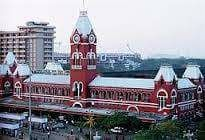 Madras Central Station 1980s